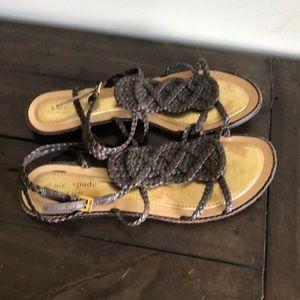 Kate spade ♠️ brown sandals